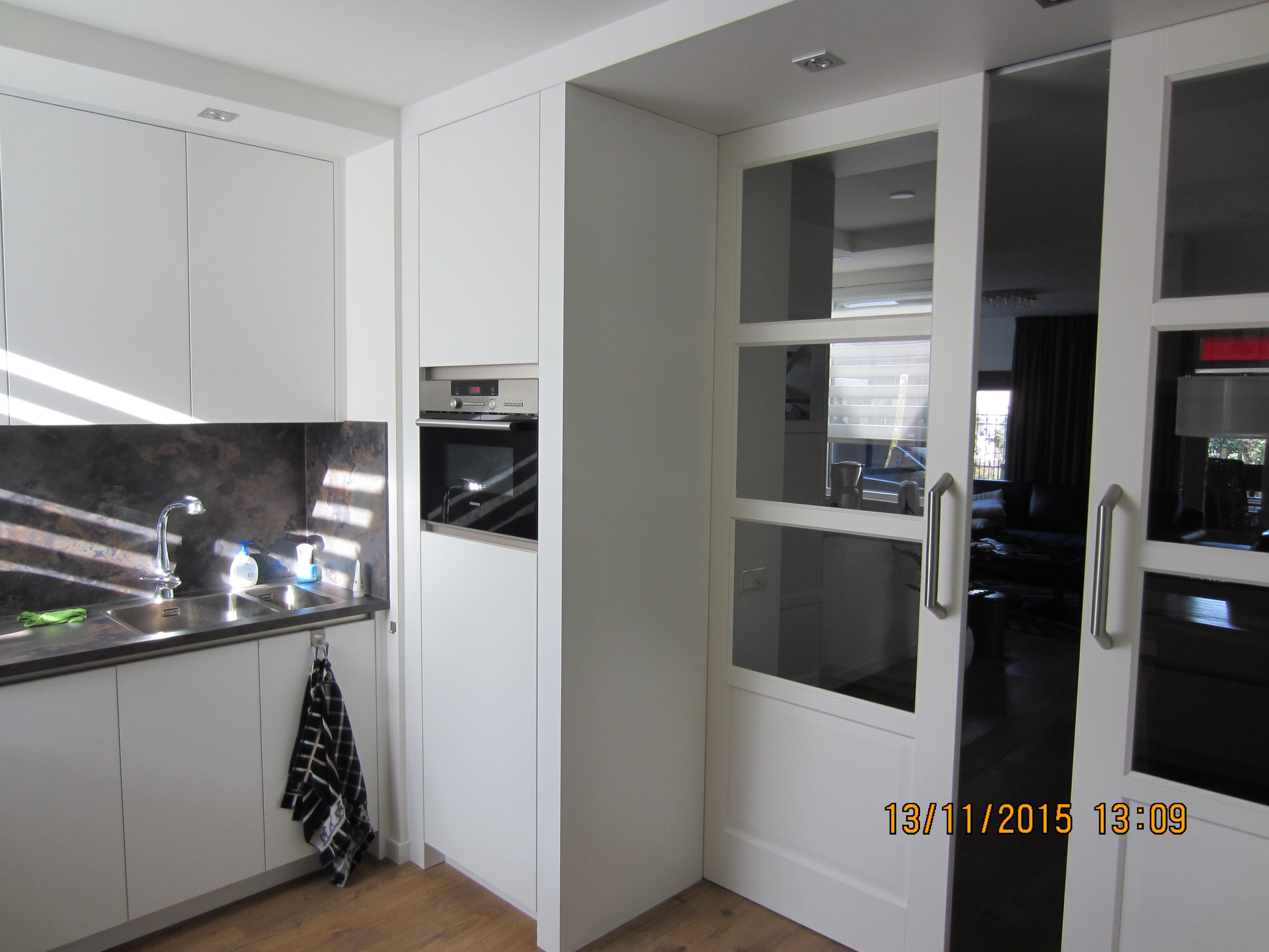 Verbouwingen ronhereijgers - Keuken en woonkamer in dezelfde kamer ...