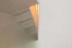 Stucwerk hal / trapgat